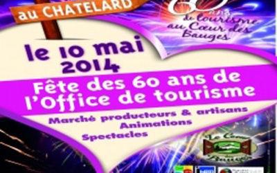 Fête des 60 ans de l'office de tourisme des Bauges