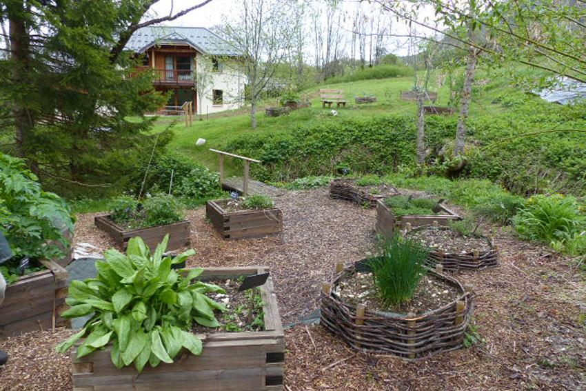 Le Jardin pédagogique de L'Herbier de la Clappe