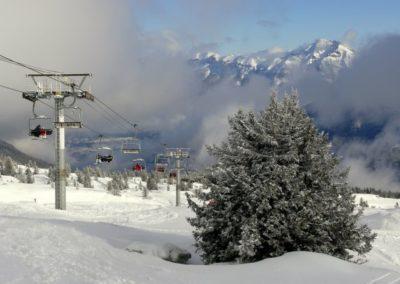 Ski aux Aillons-Margeriaz