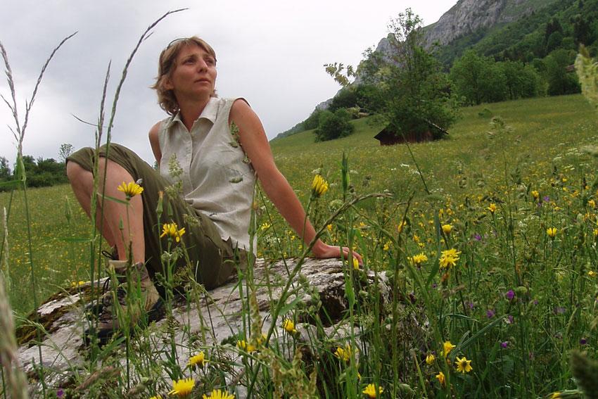 Véronique Riondy, accompagnatrice en montagne