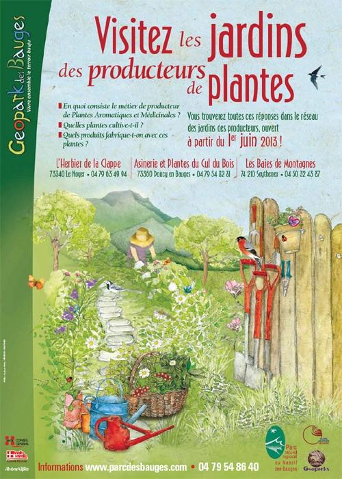 Les jardins des producteurs de plantes