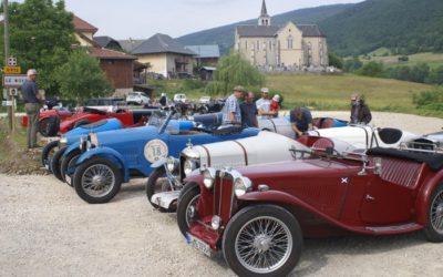 90 voitures Amilcar à L'Herbier de la Clappe