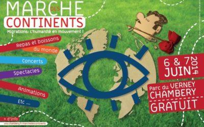 Marché des Continents 2014 à Chambéry