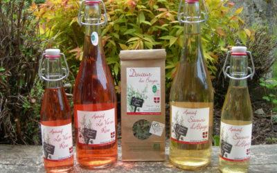 Les nouveaux produits de L'Herbier de la Clappe
